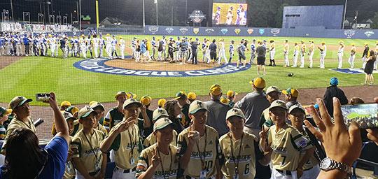 [리틀WS 현장] 야구 소년들 꿈에 불 지핀 'MLB 리틀리그 클래식' 뒷이야기